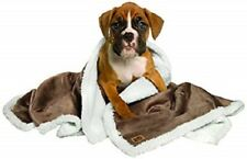 "Animal Planet Sherpa Blanket for Dogs - Brown 40""x50"" Machine Washable Puppy New"