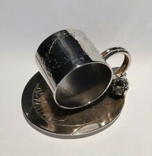 Antique Silverplate Napkin Ring - Lily Leaf - Rogers & Bro. #168