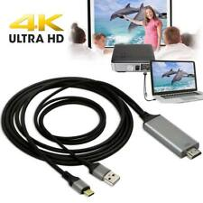 USB 3.1 Type C to HDMI HDTV Cable Adapter For Samsung Galaxy S10 Note 9 MacBook