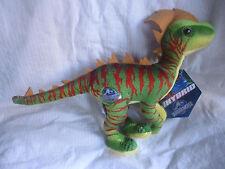 JURASSIC WORLD - Green Red Dinosaur Hybrid 18cm Plush Soft Toy Doll BRAND NEW