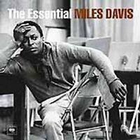 "MILES DAVIS "" THE ESSENTIAL - BEST OF"" 2 CD NEW"