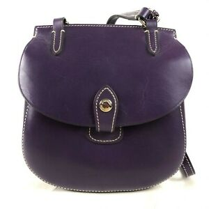 Vintage Dooney & Bourke Equestrian Small Tack Bag Crossbody
