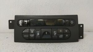 2004-2006 Chrysler Pacifica Ac Heater Climate Control Temperature Oem 88639