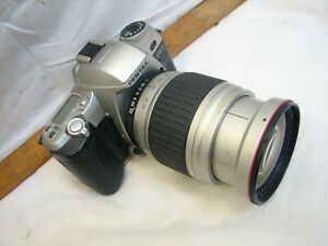 Pentax ZX-7 35mm SLR Film Camera w/28-210mm/4.2 Zoom Lens AF