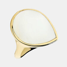 IPPOLITA Polished Rock Candy Mother of Pearl Teardrop Ring 18K Yellow Gold - 7