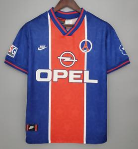 PSG 1995 1996 home Retro Football Jersey vintage Shirt