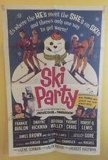Ski Party 1965 27x41 Original Movie Poster Frankie Avalon