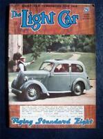 THE LIGHT CAR MAGAZINE - 21 OCT 1938 - 3rd SHOW No (EARLS). THE PARIS SALOON.