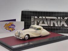 Matrix 41904-032 # Talbot-Lago T150C Cabriolet geschlossen Bj. 1936 in weiß 1:43