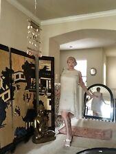 Eileen Fisher Silk Dress Sz Xl Cream Color Soft Floaty