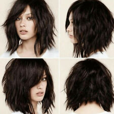WOMEN FASHION SHORT WAVE WIG SYNTHETIC FIBER CHARMING PARTY HAIRPIECE NICE