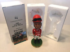 PAT DAY SIGNED 2001 CHURCHILL DOWNS BOBBLEHEAD BOBBLE WITH CARD RARE BECKETT BAS