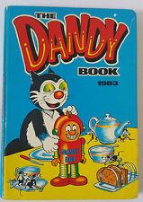 DANDY ANNUAL - 1983 UK BRITISH CARTOON COMIC BOOK - VF
