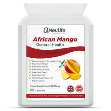 African Mango Super Strength - 2400mg Amazing Weight Loss Aid!! - 60 Capsules