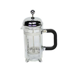 350ml Stainless Steel Glass Tea Coffee Cup french Plunger Press Maker G1Z4