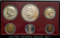 1976-S UNITED STATES MINT 6 COIN PROOF SET BU BEAUTIFUL COLOR TONED UNC (MR)