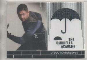 """The Umbrella Academy Costume Trading Card No.RC2 David Castaneda """"Diego"""""""