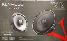 "Kenwood Excelon XR-1800 330 Watts Flush Mount 7"" 2-Way Car Speakers"