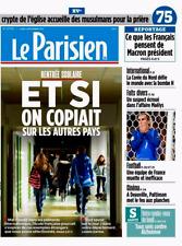Le PARISIEN (75)n° 22705*4/9/2017*MACRON que pense les français*EQUIPE de FRANCE