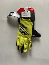 Fly BMX gloves Yellow Small/size 8
