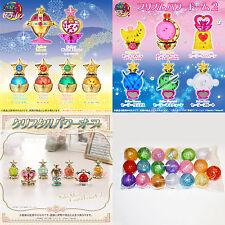 Sailor Moon Gashapon Capsule Prism Crystal Power Domes Globes 1-3 Bandai Japan