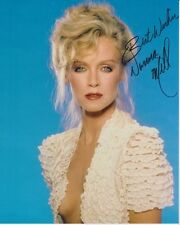 DONNA MILLS Signed BEAUTIFUL VINTAGE POSE Photo w/ Hologram COA