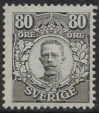 Sweden stamps 1918 YV 103 PhotoATTEST Obermüller MLH VF RARE stamp!