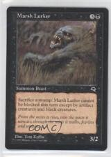 1997 Magic: The Gathering - Tempest Booster Pack Base #NoN Marsh Lurker Card 0a0