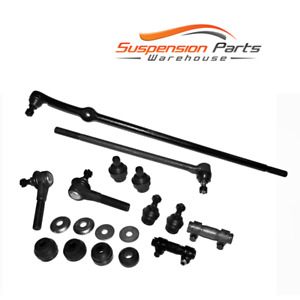 2WD New Steering Kit Tie Rod End Ball Joint For 86-96 Ford F-150, F-250