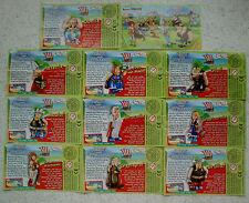 """SUCHEN Sie jeweils 3 BPZ """"Asterix und die Wikinger"""" 2007 aus!"""