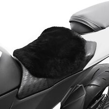Motorrad Fell Sitz-Auflage S Komfortkissen Schaffell Lammfell Sitzkissen Komfort