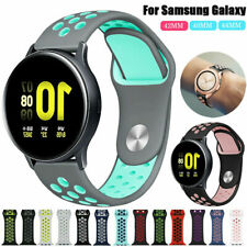 Silicone Sport Band Bracelet Strap For Samsung Galaxy Watch Active 2 40/42/44mm