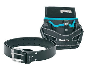 Makita P-71722 Blue Universal Drill Holster & Pouch L/R P71722 and P-71803 Belt