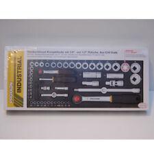 """Proxxon Steckschlüsselsatz1/2"""" + 1/4""""  56 TLG  NR. 23040"""