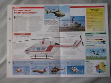 Aircraft of the World Card 51 , Group 3 - Eurocopter/Kawasaki BK 117