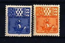 ST. PIERRE AND MIQUELON - 1947 - Segnatasse. 10 e 30 c.