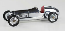 "Red Seat 1934 W 25 Silver Arrow Mercedes Benz Silberpfeil Model 12"" Formula Car"