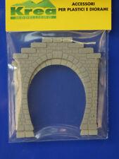 Tunnel - Portale 1 binario per plastico o diorama pezzi 2 scala N 1:160- Krea