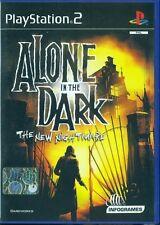 Alone in the Dark The New Nightmare Ps2 Ottima 1a Stampa Italiana con manuale
