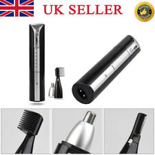 3IN1 Rechargeable Nose Ear Eyebrow Precision Body Hair Trimmer Clipper Wirless