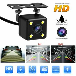 170° Car Rear View Cam HD Waterproof Night Vision Reverse Backup Parking Camera