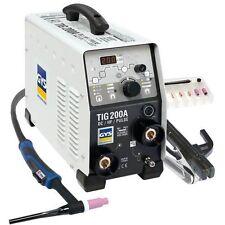 GYS WIG Inverter Schweißgerät Gysmi TIG 200 DC HF FV mit Zubehör 011540