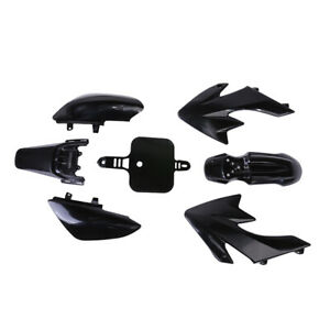 Black Plastic Fairing for Honda CRF XR 50 CRF 125cc SSR PRO Pit Dirt Bike