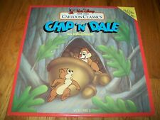 CHIP 'N' DALE WITH DONALD DUCK Laserdisc LD WALT DISNEY CARTOON CLASSICS VOL. 1