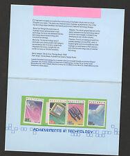 AUSTRALIA-PRESENTACION PACK-ACHIEVEMENTS IN TECHNOLOGY-1987.