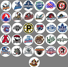 AHL all 31 team logos Buttons or Magnets NEW 1.25 inch