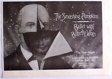 Smashing Pumpkins 1995 original Advert Bullet With Butterfly Wings
