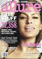 Allure magazine Eva Mendes Great hair Fall fashion Before and after weight loss