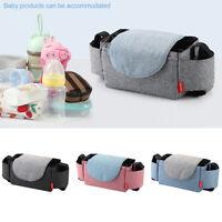 Baby Pushchair Pram Cup Baby Buggy Organiser Holder Bags Mummy Bag Universal