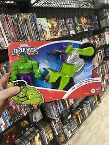 """Super Hero Adventures Playskool Heroes Marvel Hulk Smash Tank 5"""" Figure. NEW"""